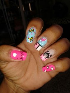 chi ita Nails, Beauty, Short Nails, Fingernail Designs, Finger Nails, Ongles, Cosmetology, Nail, Sns Nails