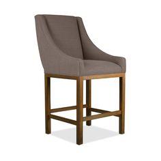 Vanesa Premium Linen Barstool