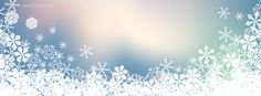 Winter Snow Flakes Facebook Cover CoverLayout.com