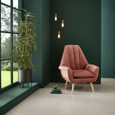 Graham & Brown has named Adeline, a rich bottle-green, as its Colour of the Year for 2020 Living Room Green, Bedroom Green, Living Room Decor, Bedroom Decor, Living Room Wall Lighting, Dark Green Rooms, Good Living Room Colors, Bedroom Colours, Green Paint Colors