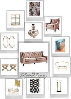 """""""Hollywood Regency"""" by mclaires ❤ liked on Polyvore"""