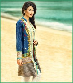 Ladies Kurta Design With Jeans for Summer