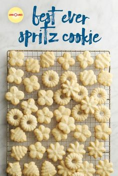 This is the best ever recipe for buttery spritz cookies with festive variations, perfect for a Christmas cookie exchange or with a cup of coffee at breakfast.