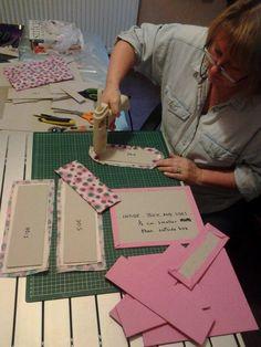 Sewing box diy fabric covered 58 ideas for 2019 Cardboard Storage, Diy Storage Boxes, Cardboard Crafts, Fabric Storage, Fabric Crafts, Sewing Crafts, Sewing Projects, Craft Projects, Fabric Covered Boxes