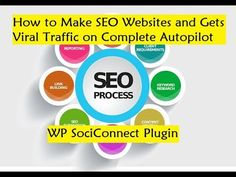 How to Make SEO Websites and Gets Viral Traffic on Complete Autopilot - WP SociConnect Plugin - YouTube