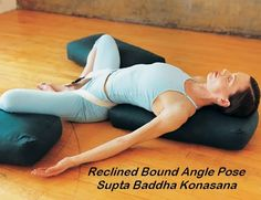 Reclined bound Angle pose (Supta Baddha Konasana) yoga for beginners blog & Pin by Yoga selvasana on supta baddha konasana | Pinterest islam-shia.org