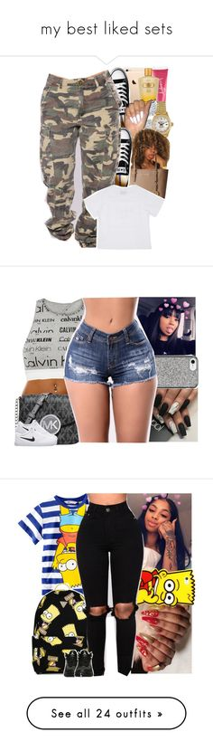 """my best liked sets"" by danny-baby ❤ liked on Polyvore featuring Victoria's Secret, Effy Jewelry, Rolex, Converse, MICHAEL Michael Kors, Calvin Klein, Michael Kors, NIKE, Nanette Lepore and H&M"