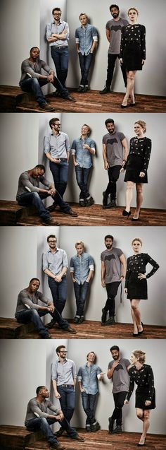 The cast of #iZombie at Comic-Con 2015! #CWSDCC