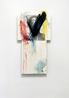 Available for sale from SETAREH, Arnulf Rainer, Cross (overpainting) Mixed media on photo cardboard on honeycomb plate collaged, 149 × 80 × cm Arnulf Rainer, Christ, Mixed Media, Artsy, Artwork, Painting, Contemporary Art, Paintings, Dibujo