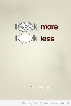 think | talk