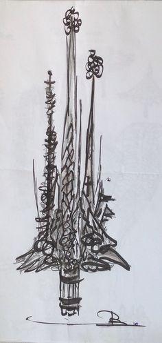 Sacrada..Sketch:Paul Boerrigter