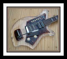 Eko Lucite Electric Guitar