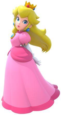 Princess Peach. Mario Party 10 Render