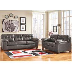 Gray Durablend Living Room Set