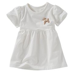 Organic Baby Clothes Dress for Girls 36m White >>> Read more at the image link.