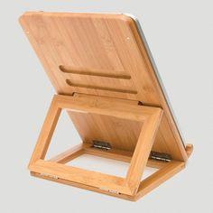 Bamboo iPad Stand 25