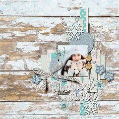 Magical Winter - Scrapbook.com