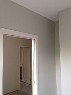 Laundry painted - Taupe Grey Dulux. Will contrast well with units & benchtop.
