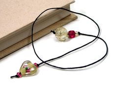 Book Thong Bookmark Beaded Book String Book Cord by TJBdesigns, $4.00
