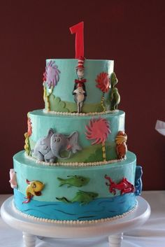 Image result for dr seuss horton cake