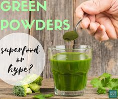 Green superfood powders: super healthy, or hype? Healthy Foods To Eat, Healthy Life, Healthy Eating, Healthy Recipes, Green Superfood, Superfood Powder, Green Powder, Fake Food, Body Love