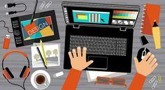 ¿Cuáles son las tendencias de diseño gráfico y marketing digital en 2016?
