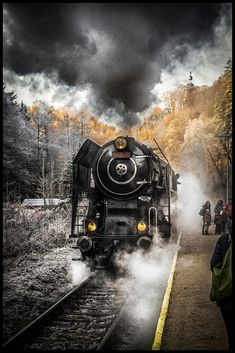 railway by Václav Verner Steam Locomotive, Canon 6d, Image, Trains