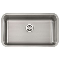 """Classic 29-7/8"""" Large Single Bowl Undermount Kitchen Sink Kitchen Sink, Home Improvement, Kitchen Ideas, Villa, Classic, Majorca, Derby, Classical Music, Home Improvements"""