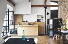 Un loft minimaliste sous les toits de Paris | PLANETE DECO a homes world
