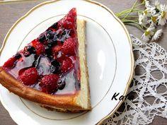 Bogyósgyümölcsös sajttorta - Kifőztük, online gasztromagazin Tart, Cake Recipes, Waffles, French Toast, Berries, Food And Drink, Pie, Yummy Food, Breakfast