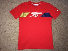 Sale Vintage Puma ARSENAL FC Soccer Shirt AFC by casualisme