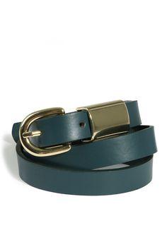 Louche+Leather+Wide-Loop+Belt