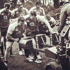 #tbt  at the English Rugby Team's training using rhino scrum!! :)