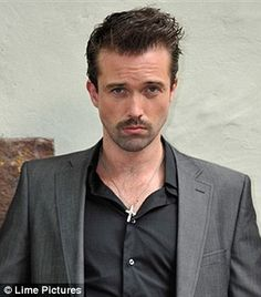 Emmett Scanlan. Only man with a mustache I am so attracted to. Plus he's irish!