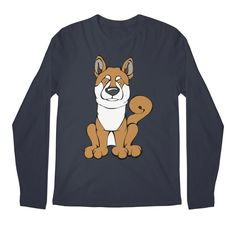 Calling all Shiba Inu Lovers!  Check this design as well as 100s more designs in the Angry Squirrel Studio Threadless Artist Shop. Available in multiple colors and styles. #threadless #artistshop #angrysquirrelstudio #dogsofpinterest #ShibaInu https://angrysquirrelstudio.threadless.com