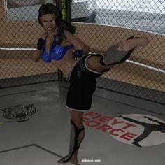 Alysha's Solo Workout 06 by Drusatis