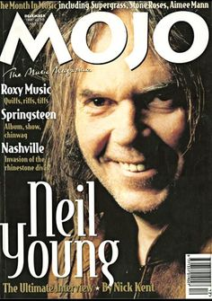 Covers photo december 1995 Neil Young