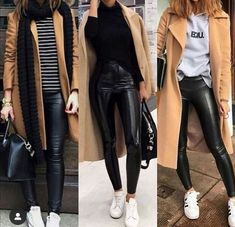 Trends For Women S Fashion 2018 Product Casual Winter Outfits, Winter Fashion Outfits, Look Fashion, Fall Outfits, Autumn Fashion, Modern Fashion Outfits, Outfit Winter, Fashion 2018, Legging Outfits