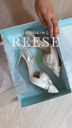Bridal And Formal, Slingback Shoes, Pointed Toe Heels, Wedding Heels, Silk Ribbon, Bridal Shoes, Beautiful Shoes, Fashion Shoes, High Heels
