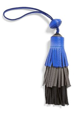 Vince Camuto Tiered Leather Tassel Bag Charm available at #Nordstrom