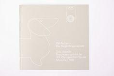 Begleitheft zur Ausstellung: »Otl Aicher – Die Regenbogenspiele« by ReneSpitz, via Flickr.