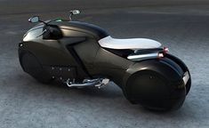 ICare - brilliant futuristic motorcycle concept is powered by the first Cylinder Flat Honda engine