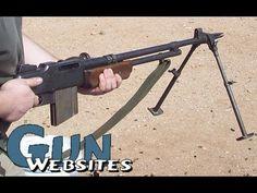 Shooting Full Auto BAR (Browning Automatic Rifle) @ Machine Gun Fundraiser