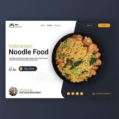 @web.inspirations - Design by @al_kahfistudio - Nice layout and use of large image. Ghosted background image is cool, too. Wish there wasn't a typo: always check your spelling!! Can you find the mis-spelled word?
