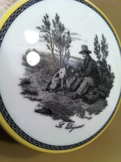 Hey, I found this really awesome Etsy listing at https://www.etsy.com/listing/205515012/villeroy-boch-audun-chasse-le-dejeuner