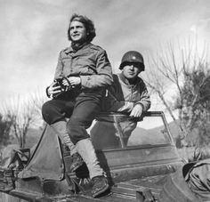 1944 - Italy: LIFE photographer and war correspondent Margaret Bourke-White