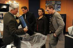 Gibbs, DiNozzo, David, & McGee