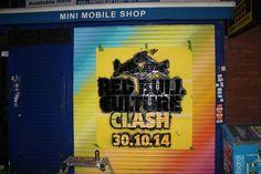 #CultureClash - shop front branding in action!