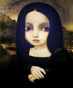 0124 [David Ho] Mona Lisa (after Da Vinci)