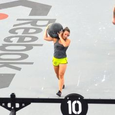 camille, crossfit games 2012